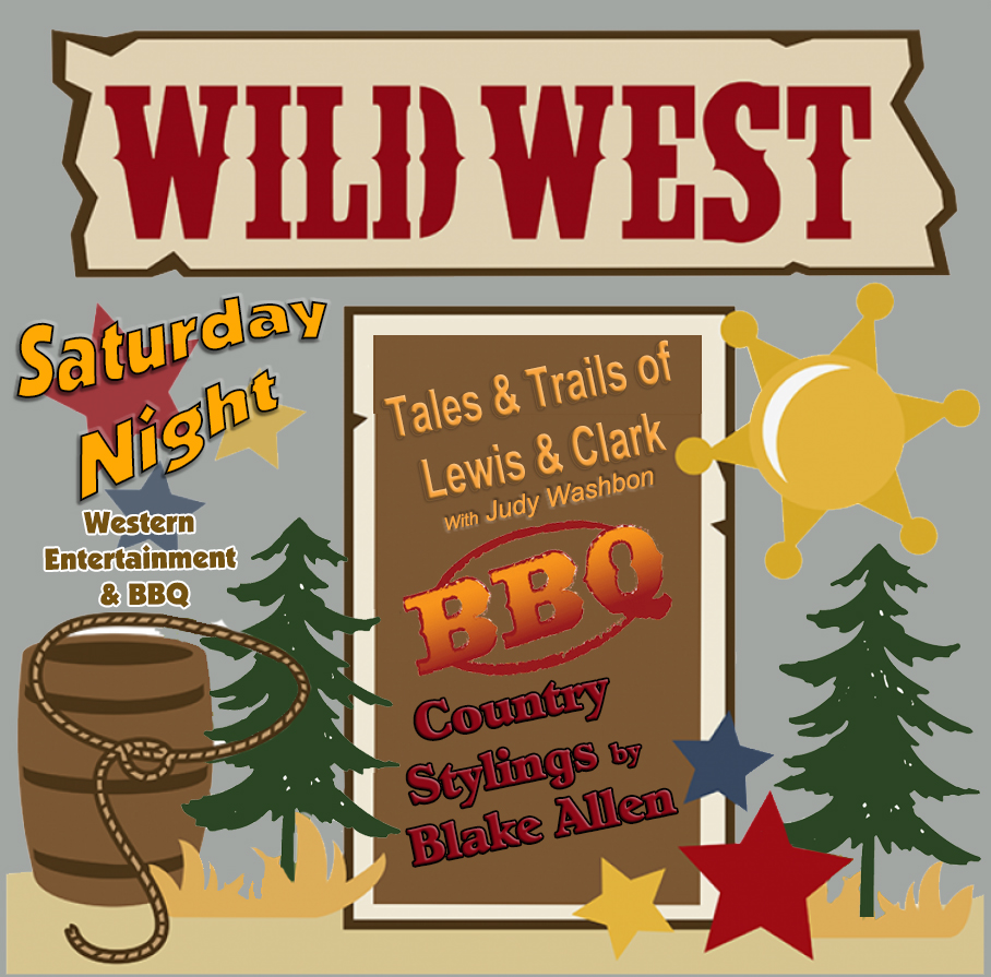 Rally In The Pines Wild West Night